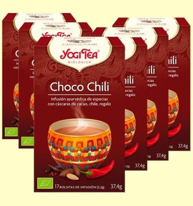 Xoco Chili Bio - Yogi Tea - Pack 6 x 17 infusions