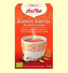 Bona nit Rooibos Vainilla - Yogi Tea - 17 bossetes d'infusió