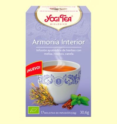 Harmonia Interior - Yogi Tea - 17 bossetes d'infusió
