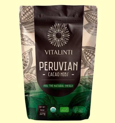 Cacau Nibs - Cacau en Trossos Bio - Vitalinti - 227 grams