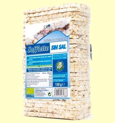 Soffiette d'Arròs Sense Sal Bio - La Finestra sul Cielo - 130 grams