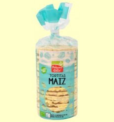 Galetes d'Blat de moro amb Sal i Sense Gluten Bio - La Finestra sul Cielo - 120 grams