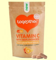 Vitamina C amb Bioflavonoides - Together - 30 Càpsules