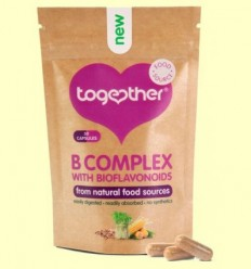 B Complex + Vitamina C i Bioflavonoides - Together - 30 Càpsules