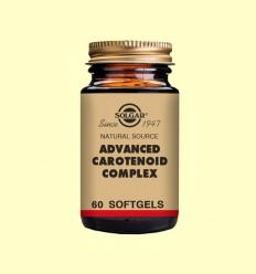 OFERTA-40% - Carotenoides Complex Avançat - Solgar - 60 càpsules