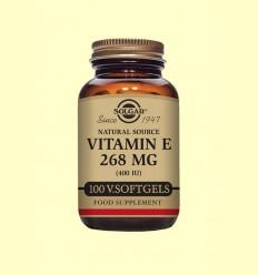 Vitamina E 268 mg 400 UI - Solgar - 100 càpsules