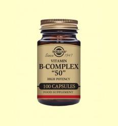 Vitamina B-Complex 50 - Solgar - 100 càpsules *