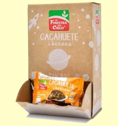 Energy ball Cacauet & Banana Bio - La Finestra sul Cielo - 25 grams