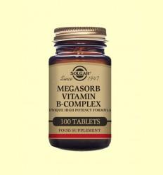 Megasorb B-Complex - Solgar - 100 comprimits
