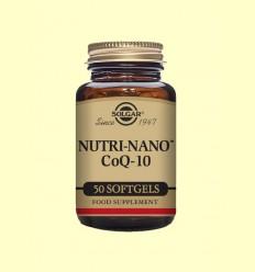Nutri Nano ™ CoQ 10 3.1x - Solgar - 50 càpsules toves