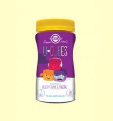 O-Cubes Gominoles masticables per a Nens - Solgar - 60 comprimits *