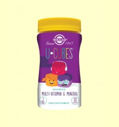 O-Cubes Gominoles masticables per a Nens - Solgar - 120 comprimits *