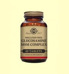 Glucosamina MSM Complex - Solgar - 60 comprimits