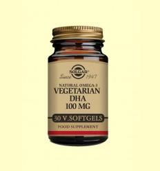 DHA Vegetarià 100 mg - Solgar - 30 càpsules toves