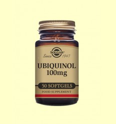 Ubiquinol 100 mg - Coenzim Q-10 - Solgar - 50 càpsules toves