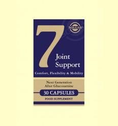 Nº 7 - Joint Support & Comfort - Solgar - 30 càpsules