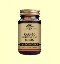 Coenzim Co Q-10 - 60 mg en oli - Solgar - 30 càpsules