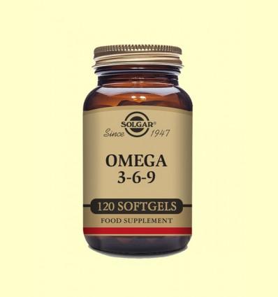 Omega 3-6-9 - Solgar - 120 càpsules