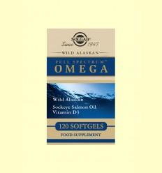 Full Spectrum OMEGA - Solgar - 120 càpsules de gelatina