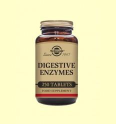Enzims Digestives - Solgar - 250 comprimits