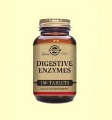 Enzims Digestives - Solgar - 100 comprimits