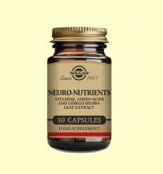 OFERTA-20% - Neuro Nutrients - Solgar - 30 càpsules