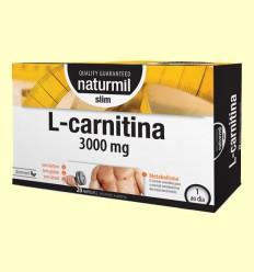 L-Carnitina 3000 Strong - Naturmil - 20 ampolas