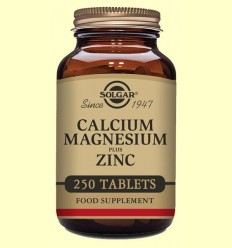 Calci - Magnesi - Zinc - Solgar - 250 comprimits