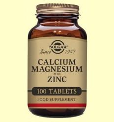 Calci - Magnesi - Zinc - Solgar - 100 comprimits