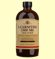 L-Carnitina líquida 1500 mg - Solgar - 473 ml