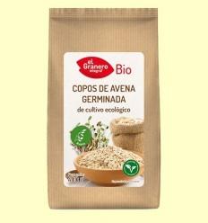Flocs de Civada Germinada Bio - El Granero - 400 mg