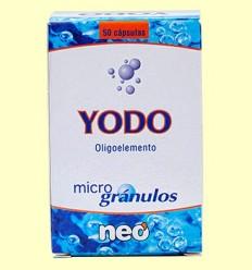 microgrànuls Iode - NEO - 50 càpsules
