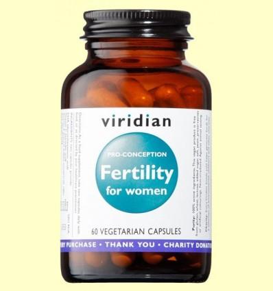 Fertility per a Dones - Viridian - 60 Càpsules