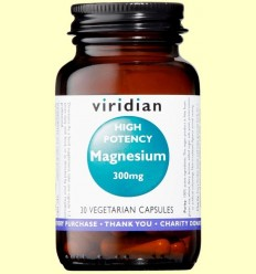 Magnesi d'Alta Potència - Viridian - 30 Càpsules
