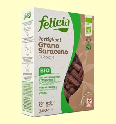 Tortiglioni de Blat Sarraí Bio - Felicia - 340 grams