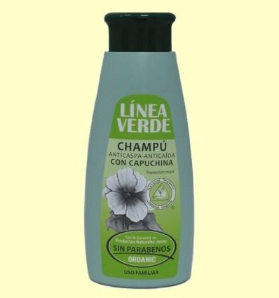 Xampú Anticaspa Anticaiguda - Línea Verde - 400 ml