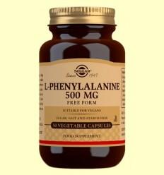 L-Fenilalanina 500 mg - Aminoàcids - Solgar - 50 càpsules
