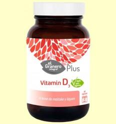 vitamina D3 - El Granero - 60 càpsules
