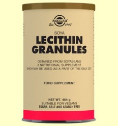 Lecitina de Soja Grànuls - Soja Natural - Solgar - 454 grams