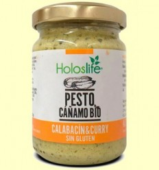 Pesto Cànem Carbassó Curry Bio - Holoslife - 130 grams