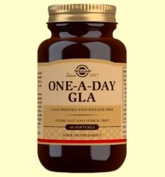 GLA Una al Dia - Solgar - 60 càpsules toves