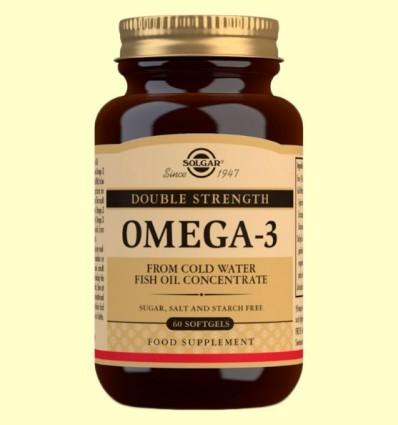 Omega 3 d'Alta Concentració - Solgar - 60 càpsules toves