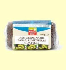Pa Germinat amb Panses, Ametlles i Dàtils Bio - La Finestra Sul Cielo - 400 Grams
