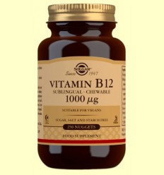 Vitamina B12 1000 mg - Solgar - 250 comprimits