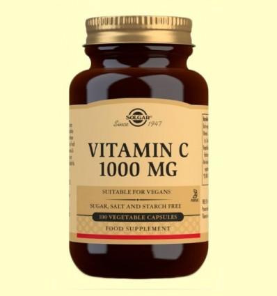 Vitamina C 1000 mg - Solgar - 100 càpsules vegetals