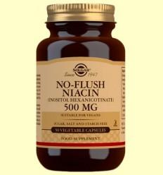 Niacina No ruboritzant 500mg - Solgar - 50 càpsules vegetals