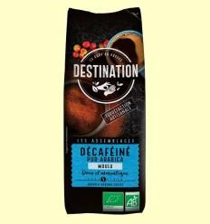 Cafè Mòlt Descafeïnat Suau 100% Aràbica Bio - Destination - 250 grams