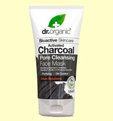 Mascareta de Carbó - Dr.Organic - 125 ml