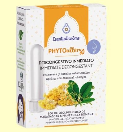 Inhalador descongestiu Phyto Allergy - Esential Aroms - 5 ml