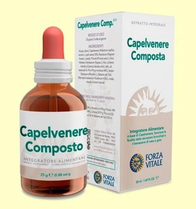 Capelvenere Composto - Forza Vitale - 50 ml